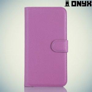 Чехол книжка для Acer Liquid Z630 - Фиолетовый