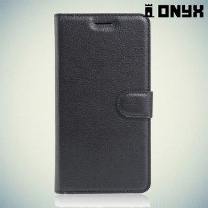 Чехол книжка для Alcatel One Touch POP 4 5051D - Черный