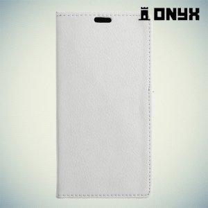 Чехол книжка для Asus ZenFone 3 Laser ZC551KL  - Белый