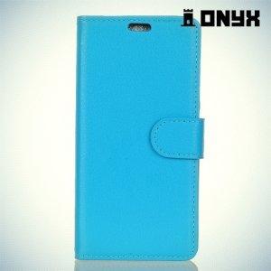 Чехол книжка для Asus Zenfone 4 Selfie Pro ZD552KL - Синий