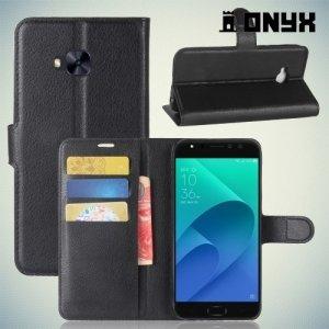 Чехол книжка для Asus Zenfone 4 Selfie Pro ZD552KL - Черный