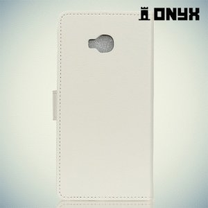Чехол книжка для Asus Zenfone 4 Selfie Pro ZD552KL - Белый