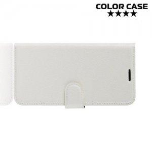 Чехол книжка для Asus Zenfone 6 ZS630KL - Белый