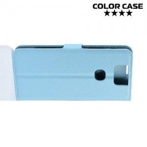 Чехол книжка для Asus Zenfone 6 ZS630KL - Голубой