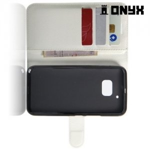 Чехол книжка для HTC 10 / 10 Lifestyle - Белый