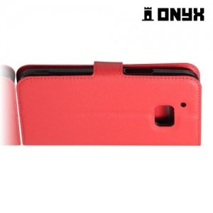 Чехол книжка для HTC 10 / 10 Lifestyle - Красный