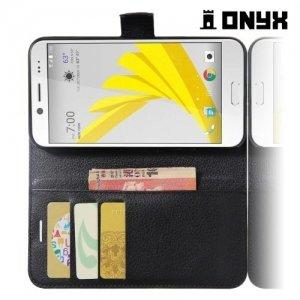Чехол книжка для HTC 10 evo - Черный
