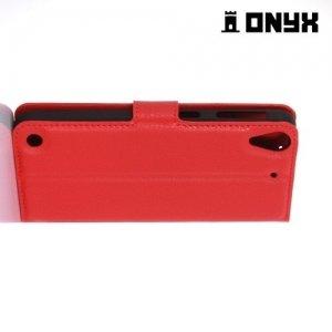 Чехол книжка для HTC Desire 530 / 630 - Красный