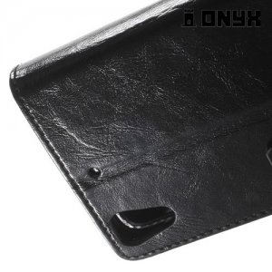 Чехол книжка для HTC Desire 626 / 628 - Черный