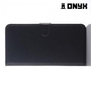 Чехол книжка для HTC Desire 728 и 728G Dual SIM - Черный