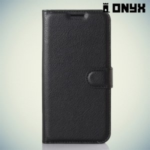 Чехол книжка для HTC Desire 825 - Черный
