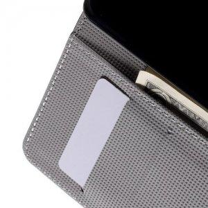Чехол книжка для HTC One A9 - с рисунком Пейсли