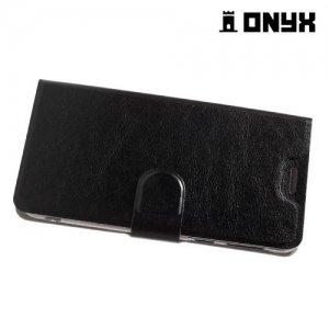 Fasion Case чехол книжка флип кейс для HTC U Play - Черный
