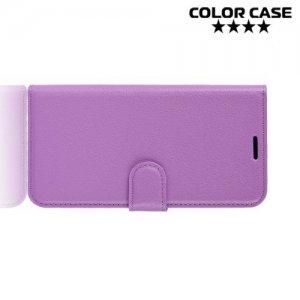 Чехол книжка для HTC U12 Life - Фиолетовый