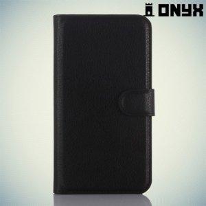 Чехол книжка для Huawei GR3 - Черный