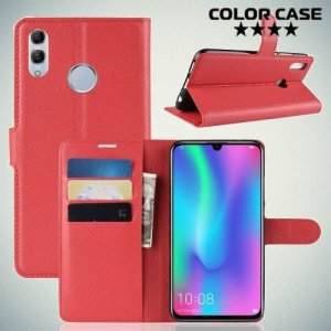 Чехол книжка для Huawei Honor 10 Lite / P Smart 2019 - Красный