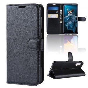 Чехол книжка для Huawei Nova 5T - Черный