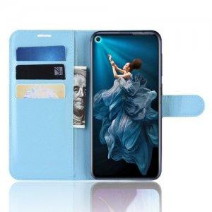 Чехол книжка для Huawei Nova 5T - Голубой
