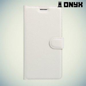 Чехол книжка для Huawei Honor 5C - Белый
