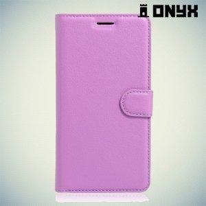 Чехол книжка для Huawei Honor 5C - Фиолетовый