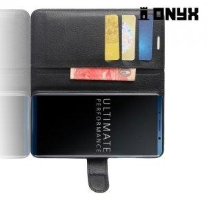Чехол книжка для Huawei Mate 10 Pro - Черный