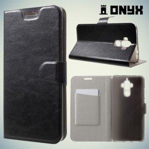 Чехол книжка для Huawei Mate 9 - Черный