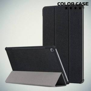 Чехол книжка для Huawei MediaPad M5 10 - Черный