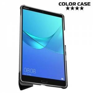 Чехол книжка для Huawei MediaPad M5 8 - Черный