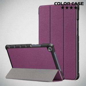 Чехол книжка для Huawei MediaPad M5 Lite 8 - Фиолетовый
