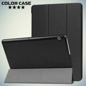 Чехол книжка для Huawei MediaPad T3 10.0 - Черный