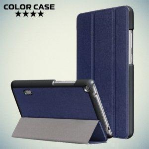 Чехол книжка для Huawei MediaPad T3 7 (Wi-Fi version BG2-W09) - Синий