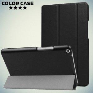 Чехол книжка для Huawei MediaPad T3 8 - Черный