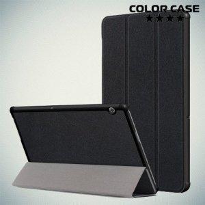 Чехол книжка для Huawei MediaPad T5 - Черный