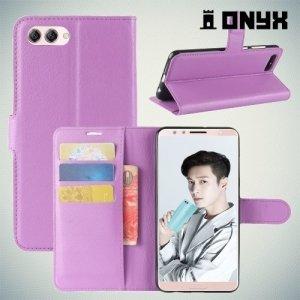Чехол книжка для Huawei Nova 2s - Фиолетовый