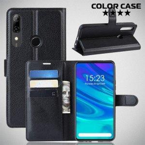 Чехол книжка для Huawei P Smart Z - Черный