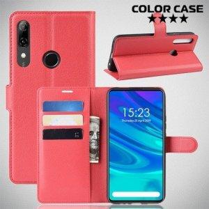 Чехол книжка для Huawei P Smart Z - Красный