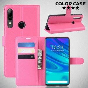 Чехол книжка для Huawei P Smart Z - Розовый