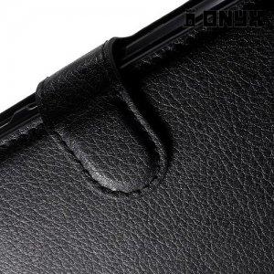 Чехол книжка для Huawei P10 - Черный