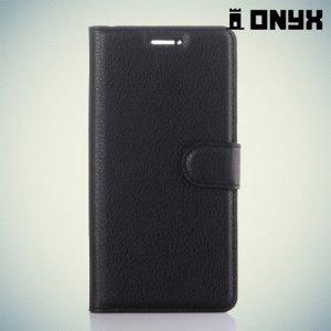 Чехол книжка для Huawei P9 - Черный
