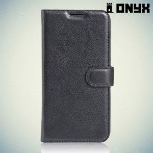 Чехол книжка для Huawei Y3 II - Черный