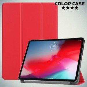 Чехол книжка для iPad Pro 11 (2018) - Красный
