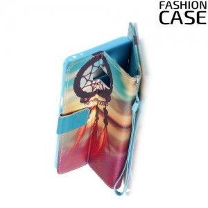Чехол книжка для Samsung Galaxy Note 7 - с рисунком Ловец снов