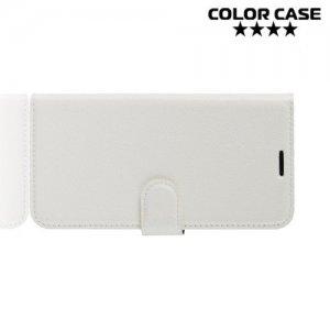 Чехол книжка для iPhone XR - Белый