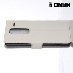 Чехол книжка для LG Class H650E - Белый