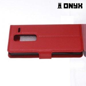 Чехол книжка для LG Class H650E - Красный