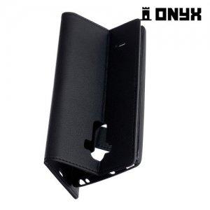 Чехол книжка для LG G Vista 2 H740 - Черный