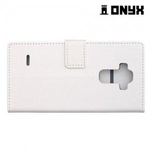 Чехол книжка для LG G Vista 2 H740 - Белый