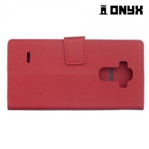 Чехол книжка для LG G Vista 2 H740 - Красный