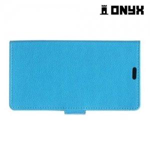Чехол книжка для LG G Vista 2 H740 - Голубой