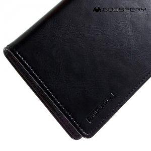 Чехол книжка для LG G5 H845 MERCURY GOOSPERY Blue Moon - Черный